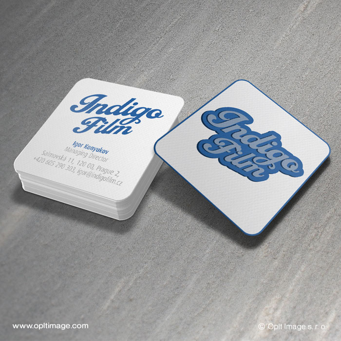 Fndigo Film business card